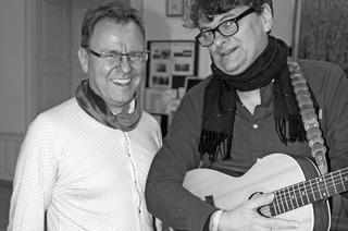 Harald Gritzner und Wolfgang Gerbig in Neuenburg
