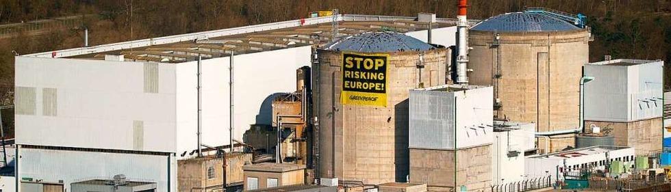 Pannen und Proteste: Das Atomkraftwerk Fessenheim