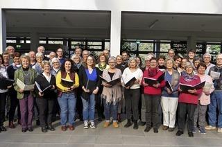 Chorgemeinschaft Liederkranz Lahr und Männergesangsverein Sulz treten auf in der Städtischen Musikschule in Lahr