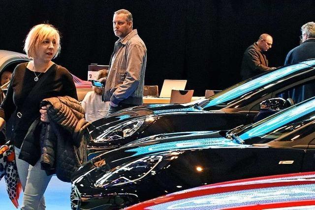 Freiburger Automobil-Messe verzeichnet 42 Prozent weniger Besucher