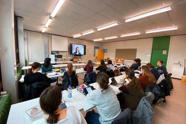 Freiburger Lehrerin in Corona-Quarantäne betreut Klasse per Video-Chat