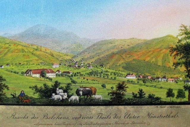 Münstertals Zentrum war einst eine grüne Wiese mitten im Tal