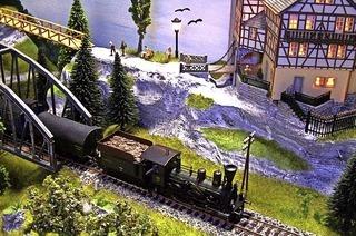 Modeleisenbahn in Bad Krozingen zu sehen