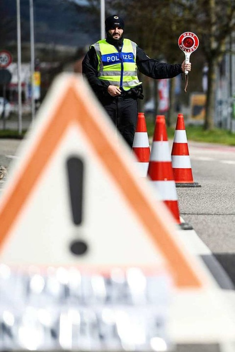 Landrätinnen wollen verstärkte Grenzkontrollen zu Frankreich - Badische Zeitung TICKET