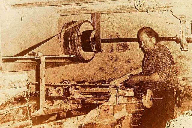 Hörhalden war die Heimat der Holzwolle-Fabrikanten