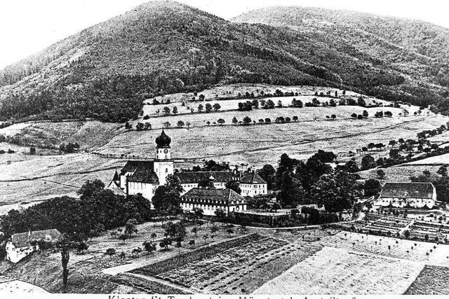 Das Kloster St. Trudpert prägt seit Jahrhunderten das Münstertal