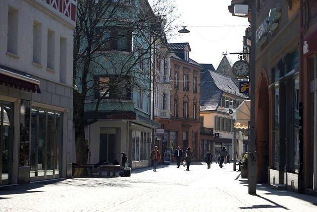 Die Stadt Lahr fährt sich wegen des Coronavirus runter − viele Geschäfte bleiben geschlossen