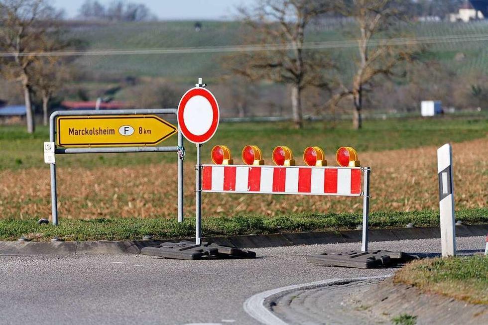 Grenzübergang zwischen Sasbach und Marckolsheim ist geschlossen - Badische Zeitung TICKET