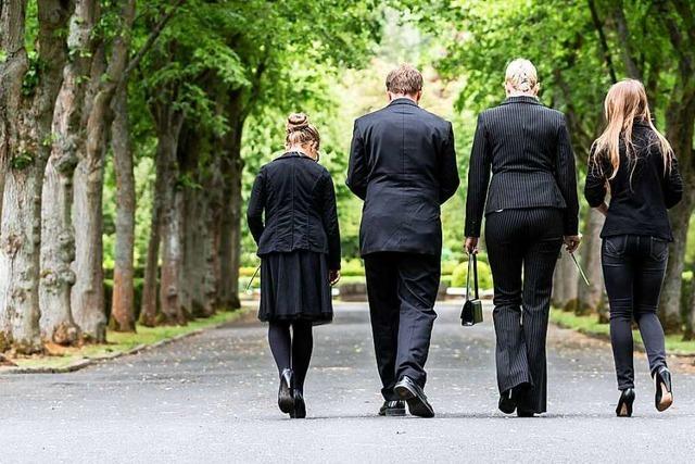 Die Corona-Krise verändert das Leben in Deutschland auch bei Trauerfeiern