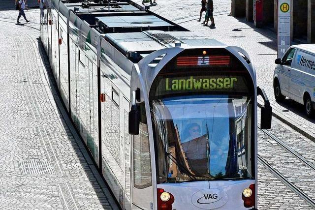 Freiburger VAG steigt ab Montag auf den Sonderfahrplan um
