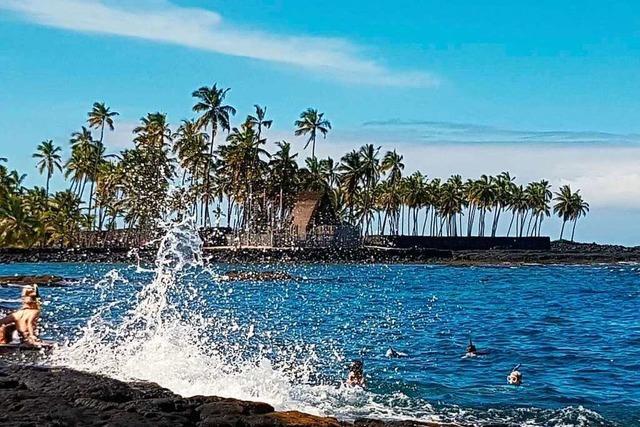 Wie ein Lahrer Paar die Auswirkungen der Pandemie auf Hawaii erlebte − und die Rückreise antrat