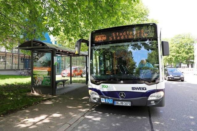 Für die Busse der SWEG gilt der Ferienfahrplan