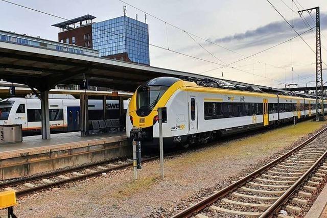 Zug- und Busverkehr rund um Freiburg wird ausgedünnt