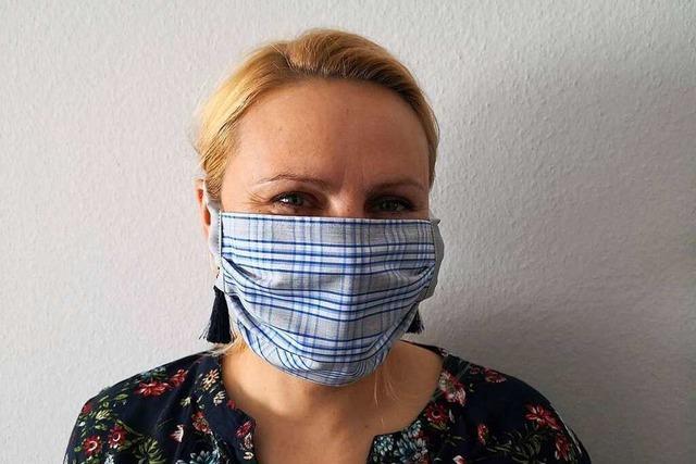 Statt feiner Wäsche Schutzmasken