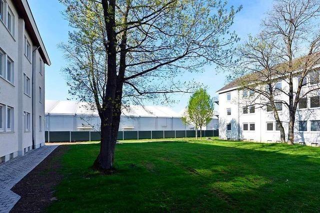 Corona-Infizierte auch in Freiburger Flüchtlingsunterkunft