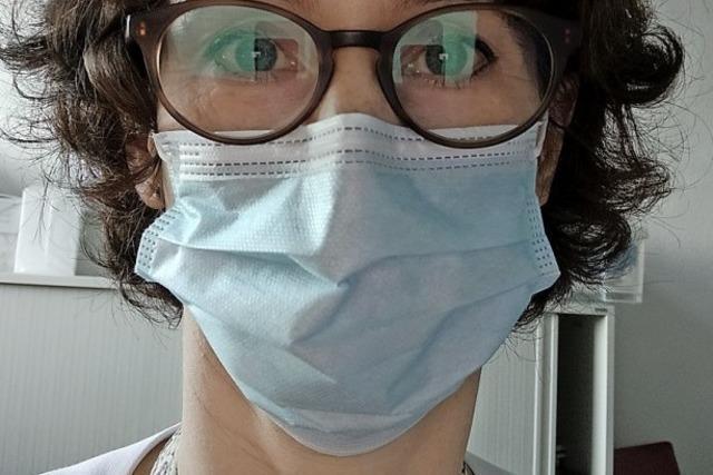 Lyn Anne von Zepelin pflegt Covid-19-Patienten