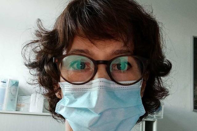 Lyn Anne von Zepelin pflegt in der Uniklinik Covid-19-Patienten