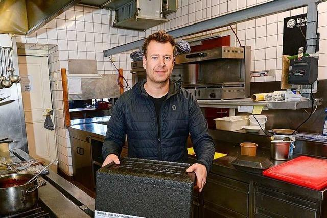 Freiburger Restaurant Paradies schaltet in den Lieferdienst-Modus