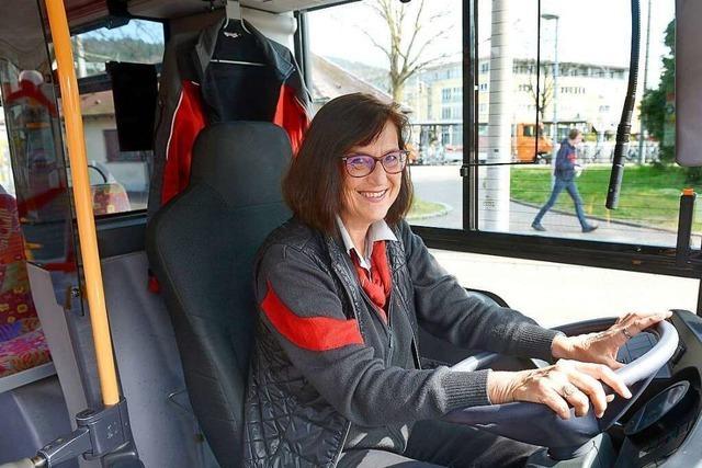 VAG-Fahrerin sorgt dafür, dass Trams und Busse weiter fahren