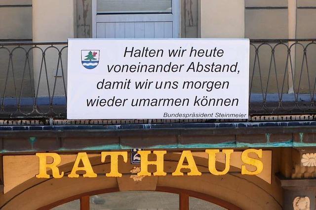 Titisee-Neustadts Bürgermeisterin lobt die Solidarität der Menschen