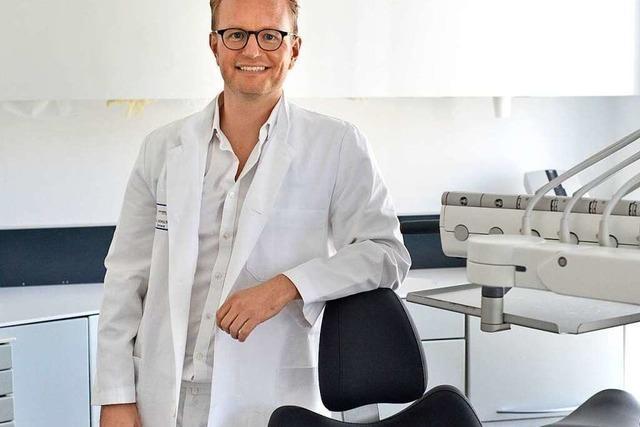 Freiburger Zahnarzt bleibt nah dran an seinen Patienten