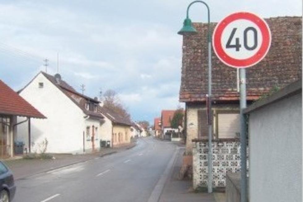 Rheinstraße - Hartheim