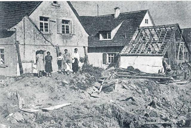 Mutige Friesenheimer Frauen zersägten die Panzersperren