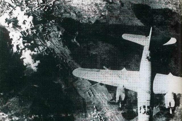Der letzte Fliegerangriff auf die Stadt Lahr war am 17. April 1945