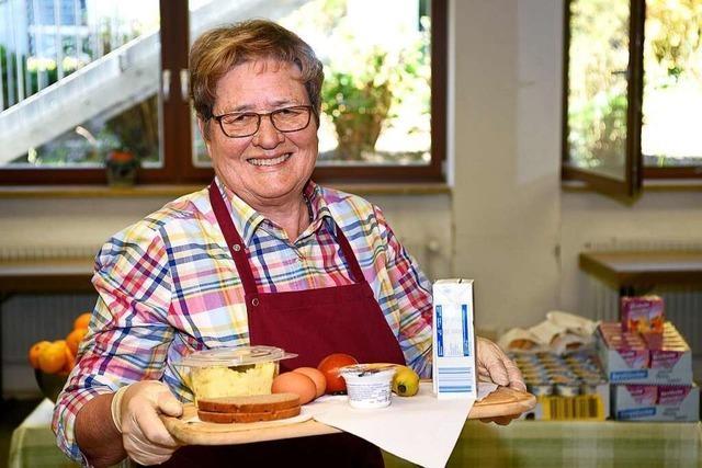 Gisela Sträter ist auch in der Krise Seele und Motor der Freiburger Suppenküche