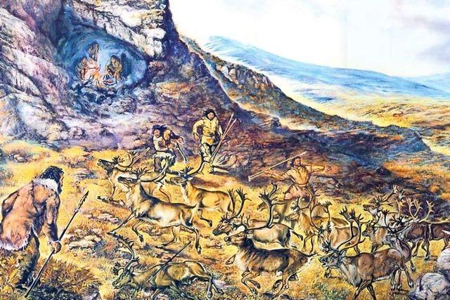 Auf dem Steinzeitpfad am Ölberg können Wanderer in 140 000 Jahre Menschheitsgeschichte eintauchen