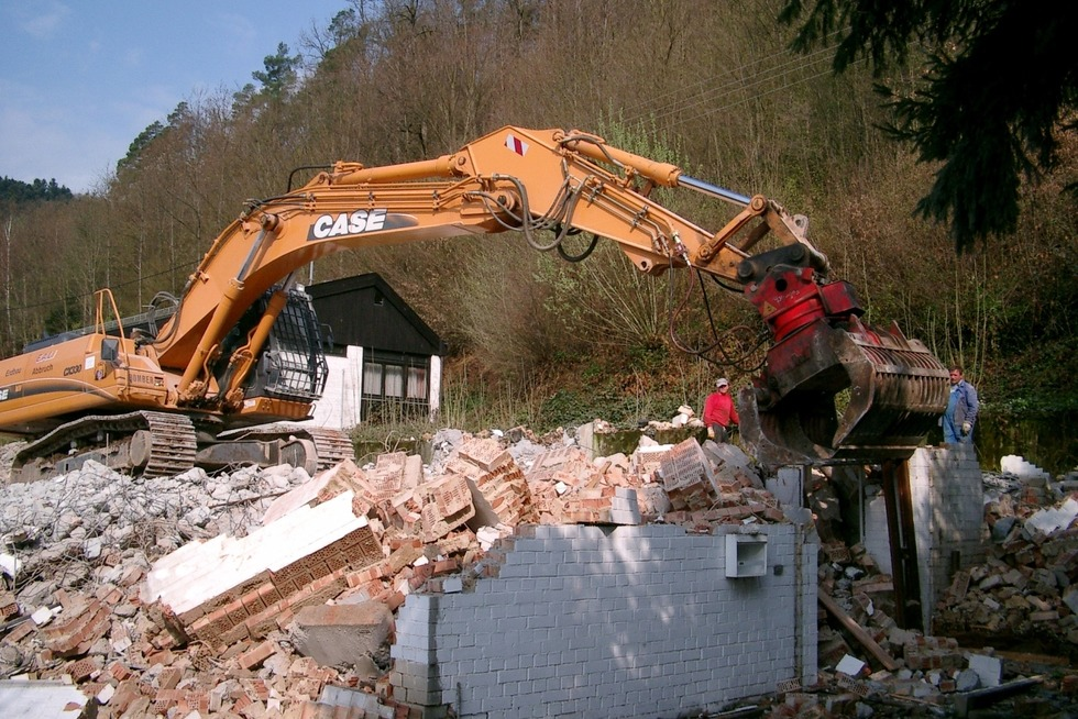 Altes Schulhaus Wittental (abgerissen) - Stegen