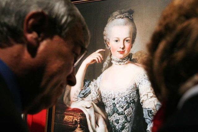 Als Prinzessin Marie Antoinette Freiburg besuchte