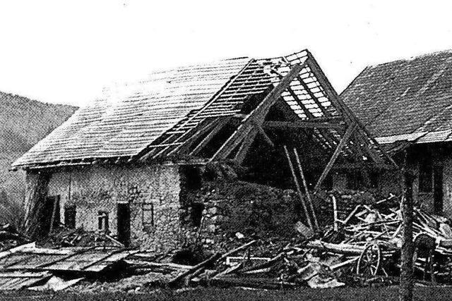 Die letzten Kriegswochen im Südlichen Breisgau