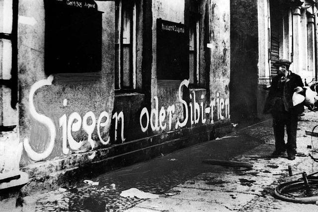 Der Zweite Weltkrieg wird immer eine politische Verpflichtung bleiben