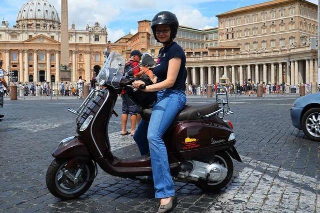 Mach's, wie die Römer: Per Vespa durch die ewige Stadt