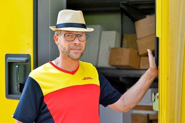 Freiburger Paketbote liefert in der Krise deutlich mehr Sendungen aus