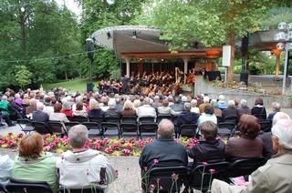 Konzertmuschel im Kurgarten