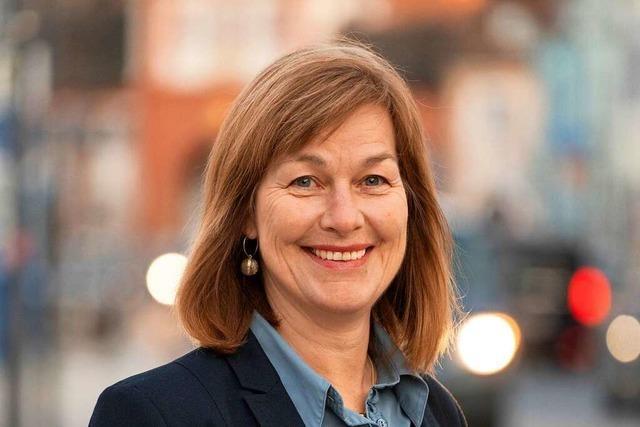 Stadtrundgang mit der Emmendinger OB-Kandidatin Susanne Wienecke