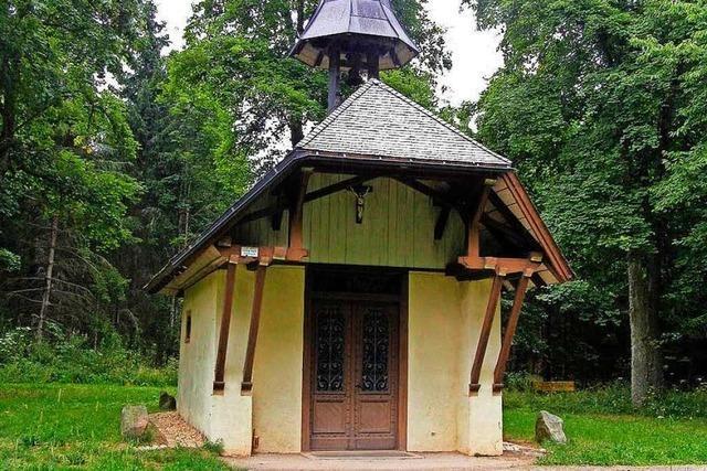 Chronisten sind uneins, wie die Schillingskapelle bei Friedenweiler entstanden ist