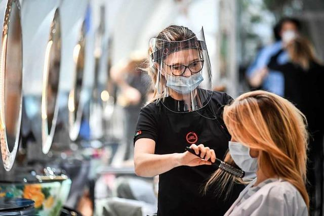 Friseure sind teilweise über Wochen ausgebucht