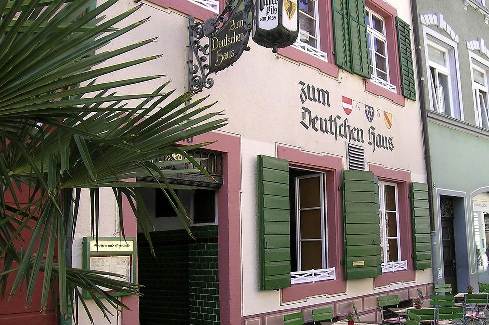 Gasthaus zum Deutschen Haus - Freiburg