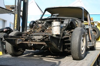 Oldtimer Restauration Holm