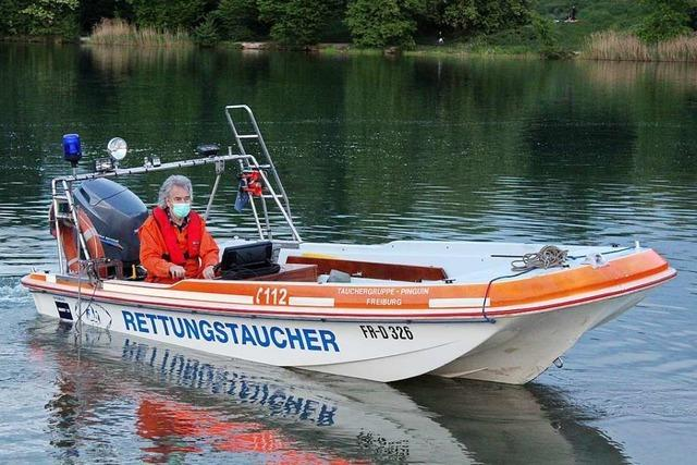 Rettungstaucher im Raum Freiburg verbinden Ehrenamt und Hobby