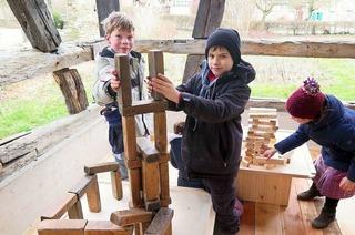 Grundschulkinder als Museumsplaner