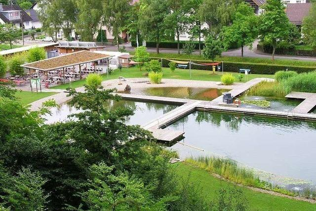 Naturbad Sulz (2020 nur für Vereinsmitglieder geöffnet)