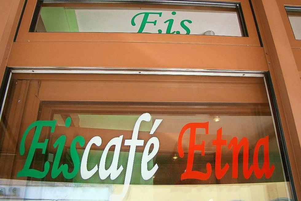 Eiscafé Etna (geschlossen) - Freiburg