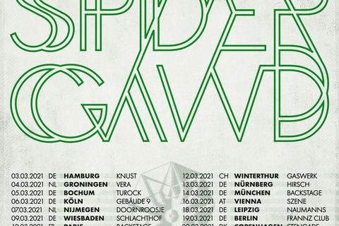 SPIDERGAWD - European Tour 2021 - Wiesbaden - 09.03.2021 19:30