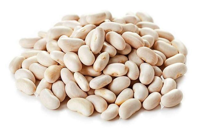 Weiße Bohnen sind gut für starke Muskeln