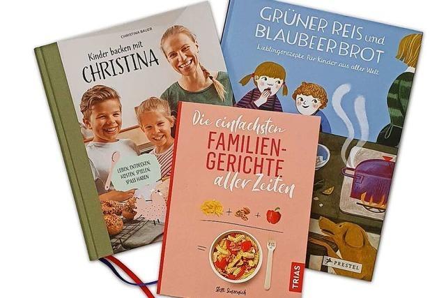 Kochen mit Kindern – diese Bücher geben Tipps für die Familienküche