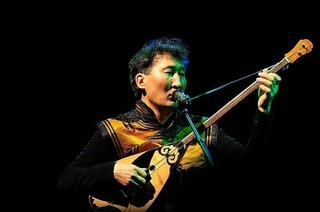 Mongolische Musik im Mensagarten Freiburg